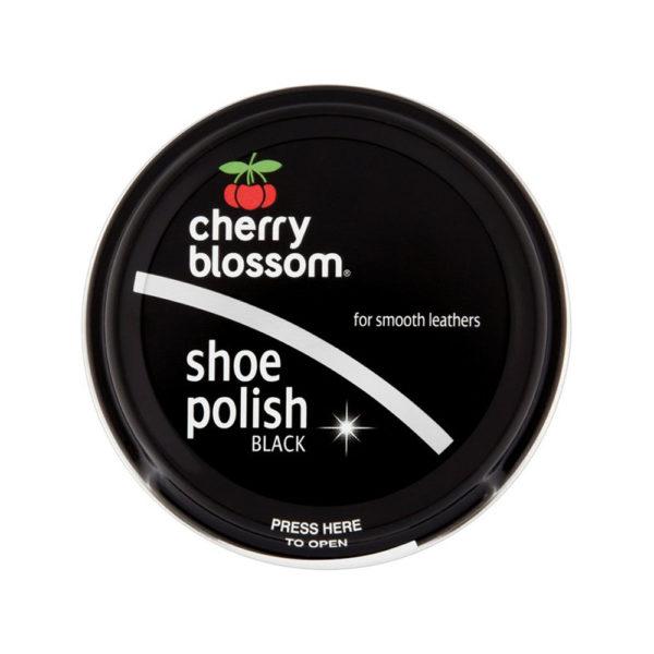 Cherry Blossom Shoe Polish Black 50ml