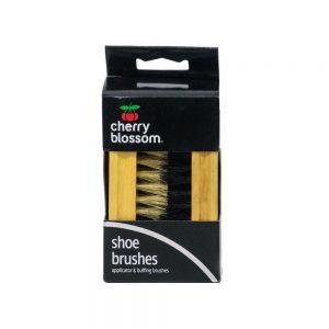 Cherry Blossom Shoe Brush