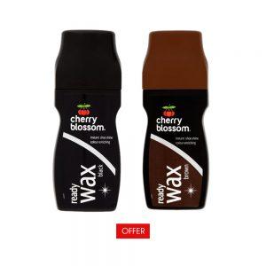 Cherry Blossom Liquid Ready Wax Black and Brown 85ml