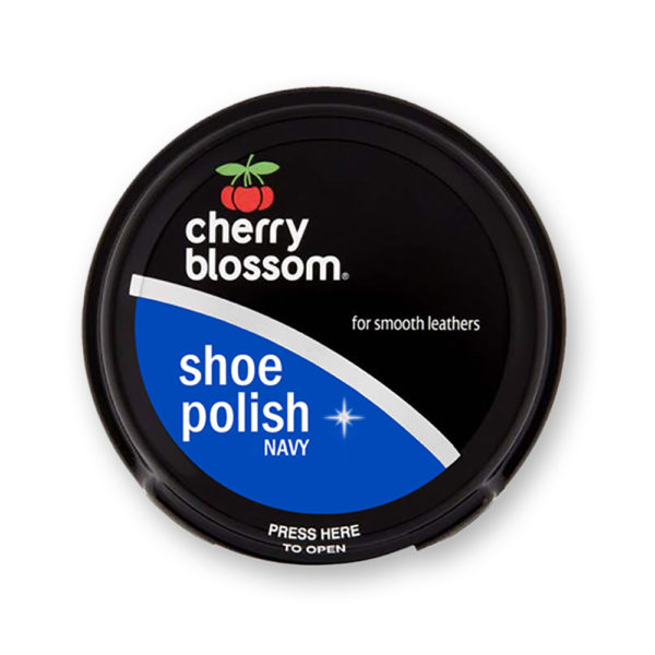 Cherry Blossom Shoe Polish Navy Blue 50ml
